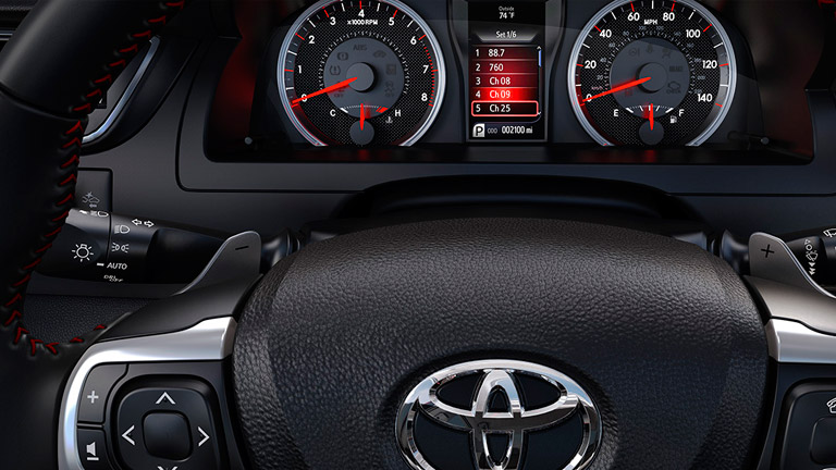 Also New For The 2015 Camry Is That Every Version Gets A Touchscreen  Interface To Use The Popular Entune Infotainment System.