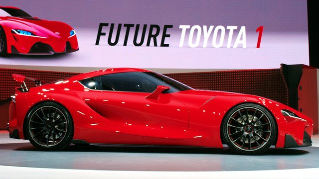 New Toyota Ft 1 Concept Car Attrell Toyota