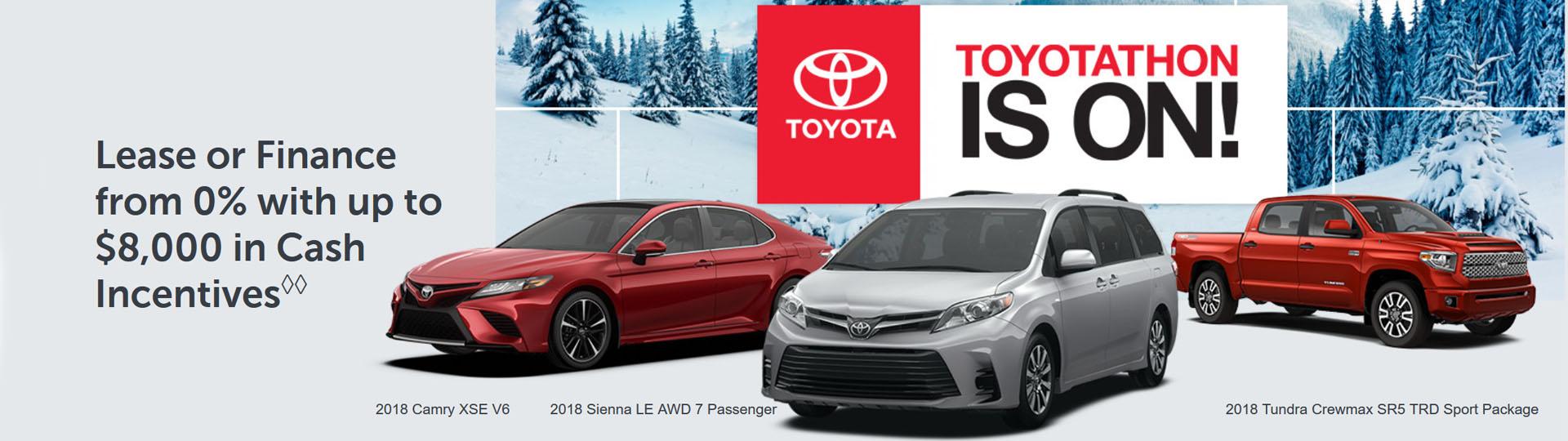 Toyotathon Is On