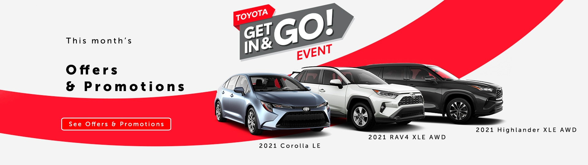 Toyota Get in & go event